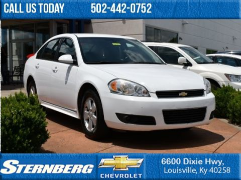 Pre-Owned 2010 Chevrolet Impala LT FWD 4D Sedan